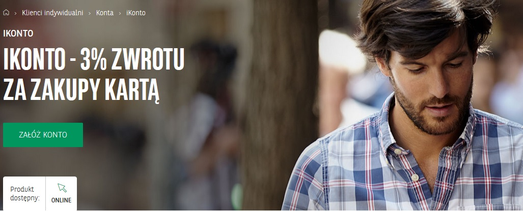 BGŻ BNP Paribas 3% za płatności kartą z ikonto