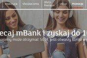 Poleć mBank i zyskaj 100 zł