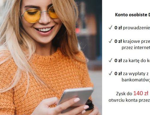 Do 140 zł za otwarcie konta osobistego w ING Bank Śląski