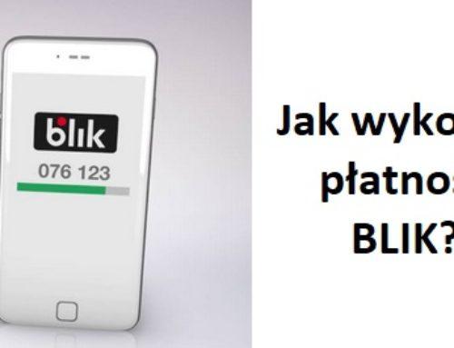 Jak wykonać płatność BLIK?