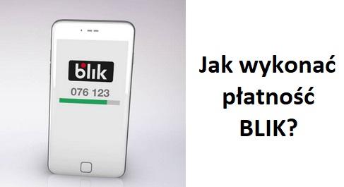 Płatność Blik - grafika.