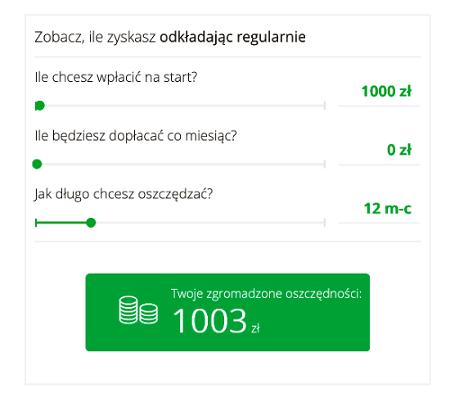 symulacja zarobku ekonto 1000 zł