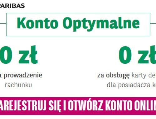 Konto na miarę, czyli Konto Optymalne w BGŻ BNP Paribas z premią do 320 zł