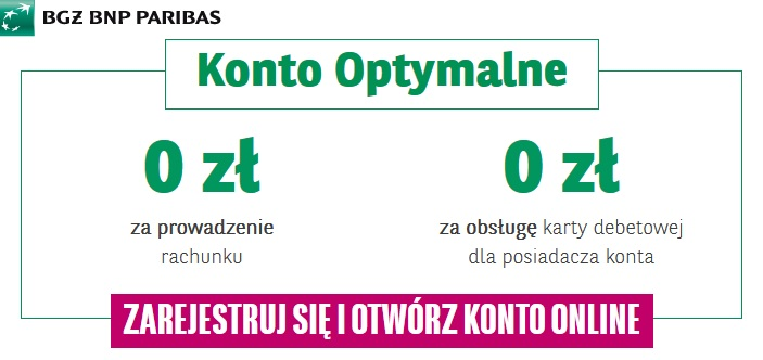 Kontonamiare - Bank BGŻ BNP Paribas