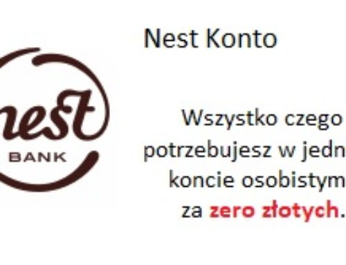 Nest Bank: Konto bankowe bez opłat z bonusem 200 zł