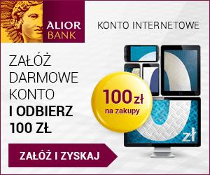 banner alior bank konto osobiste