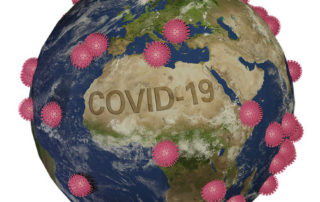 covid-19 - globus pandemia